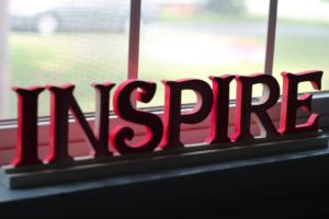 Inspiratie aan de muur